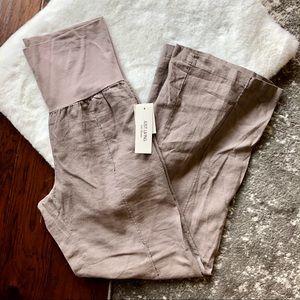Just Living | Wide Leg Linen Pants